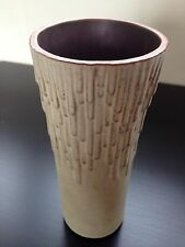 Vintage 1970's Shelf Pottery Studio Volcano Vase Modernist Halifax Art England