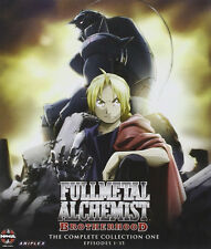 Fullmetal Alchemist Brotherhood . Collection 1 One . Ep. 1-35 . 5 Blu-ray . NEU