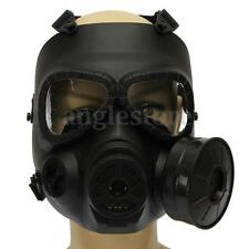 Paintball Tactical Airsoft Game Safety Toxic Gas Mask Face Protection Guard