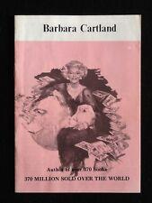 Ancien fascicule sur la vie de Barbara Cartland