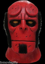 Hellboy Mignola Comic Adult Halloween Mask Officially Licensed JMDC100 Brand New
