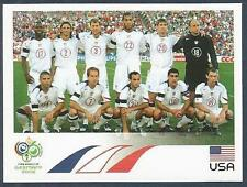 PANINI FIFA WORLD CUP-GERMANY 2006- #340-UNITED STATES-USA TEAM PHOTO