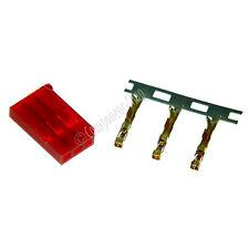 4 X Futaba-Rojo Macho / conectores de la batería