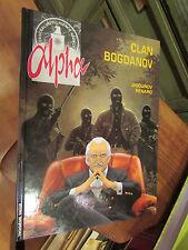 BD bande dessinée alpha clan bogdanov jigounov renard editions du lombard 1999
