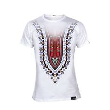 TEE SHIRT MONSTERPIECE - DASHIKI BLANC -  TAILLE XS -  MADE IN FRANCE - NEUF