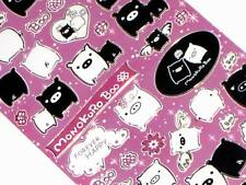 2 sets MonoKuRo Boo - 53 Laser Stickers - Anime
