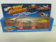 Vintage 1985 Hot Wheels Body Swappers RARE