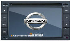 AUTORADIO GPS SPECIFICA NISSAN QASHQAI X-TRAIL DIVX MP3 USB SD MAPPE LOGO NISSAN