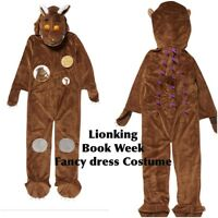 Gruffalo Dressing Up Costume fancy dress -Age 2 3 4 5 6 7 8  ( World Book Day)