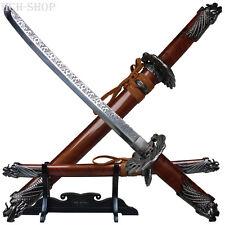 Haller Brieföffner Souvenir Deko Mini Samurai Schwert mit Scheide und Ständer