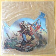 """IRON MAIDEN The Trooper Crossed Eyed Mary Import Picture Disc UK (""""U"""" Cut) New"""