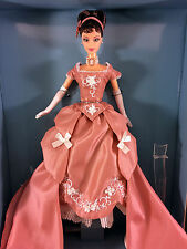 2001 Wedgwood Barbie Doll - Pink Limited Edition Jasperware - Deboxed