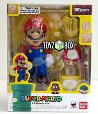 "In STOCK S.H. Figuarts ""Super Mario"" Bros. (Brothers) Bandai Action Figure"