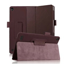 """For Amazon 2015 Kindle Fire 7 7""""inch 5th Gen Folio PU Leather Cover Stand Case"""