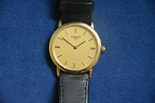 HARDLY WORN GENTLEMAN'S TISSOT WATCH WITH SAPPHIRE CRYSTAL GLASS