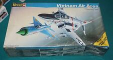 Vietnam Air Aces F-4 Phantom II & MiG 21 Fishbed Revell 1/48 Factory Sealed.