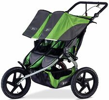 2016 Bob Sport Utility Duallie Twin Baby Jogger Double Jogging Stroller Meadow