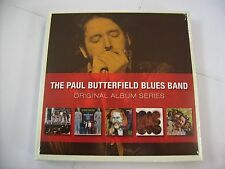 BUTTERFIELD BLUES BAND - ORIGINAL ALBUM SERIES - 5CD BOXSET NEW SEALED 2009