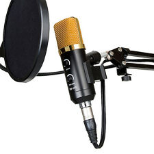 USB Audio Cardioid Condenser Studio Sound Recording Microphone with Stand HOT