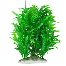 B3 Artificial Water Plant Decoration for Fish Tank, Green