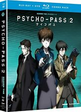 Psycho-Pass 2 . The Complete Season 2 . Anime . 2 DVD + 2 Blu-ray . NEU . OVP