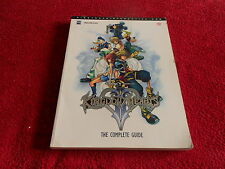 DISNEY KINGDOM HEARTS II (2) THE COMPLETE GUIDE PIGGYBACK SONY PLAYSTATION VGC