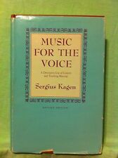 Music for the Voice : A Descriptive List of Concert and Teaching Material by...