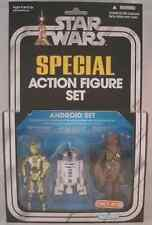 Kenner Star Wars Exclusive 3 Pack Android Set C3PO, R2D2, CHEWBACCA