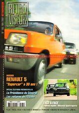 RETROVISEUR 165 RENAULT 5 R5 MASERATI SIMCA 1960 LANCIA TRIUMPH TR6 PORSCHE 912