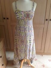 FANTASTIC BUTTERFLY BY MATTHEW WILLIAMSON MAXI DRESS UK SIZE 10 BNWT