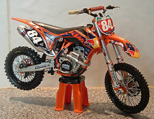 2013 TOY MOTOCROSS BIKE MODEL 1:12 JEFFREY HERLINGS RED BULL KTM #84 SXF 250