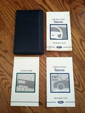 1998 FORD TAURUS OWNERS MANUAL SET