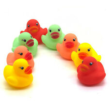 Cute One Dozen (12) Rubber Duck Ducky Baby Kid Shower Birthday Party Favors Toys