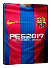 Pes 2017-FC Barcelone steelbook Edition - [playstation 4] --- sony psx 4 --- top