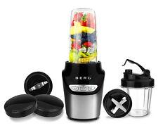 BERG 1000W Nutri Extractor Smart Personal Mini Blender Bullet RRP £119