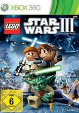 XBOX 360 Lego Star Wars 3 The Clone Wars Deutsch  Neuwertig