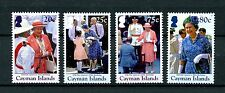 Cayman Islands 2016 MNH Queen Elizabeth II 90th Birthday 4v Set Royalty Stamps