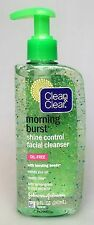 Clean & Clear Morning Burst Shine Control Facial Cleanser 8 oz and