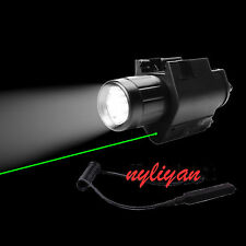 Combo Green Dot Laser Sight&300LM CREE Flashlight For Rifle Airsoft Hunting