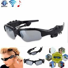 Wireless Handsfree Bluetooth 4.0 Headset Stereo Headphone Sunglasses Mp3 Player