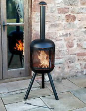 EXTRA LARGE GARDEN CHIMENEA PATIO FIRE PIT HEAT PARTY CHIMNEY OUTDOOR PATIO