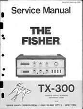Fisher Service Manual für TX-300
