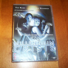 MILLENNIUM CRISIS Ted Raimi Ato Essandoh Science Fiction Action DVD SEALED NEW