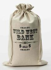Wild West or Cops and Robbers Money Bag Costume Accessory