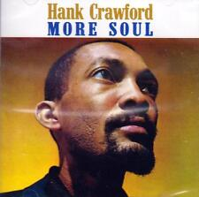 Hank Crawford - More Soul (NEW SEALED CD)
