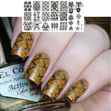 Vintage Style Nail Art Stamp Template Image Plate BORN PRETTY L007 12.5 x 6.5cm