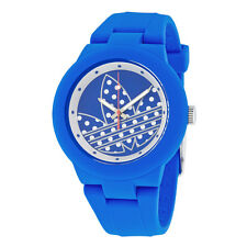 Adidas Aberdeen Blue and Silver Dial Silicone Ladies Watch ADH3049