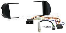 SET für VW New BEETLE Radioblende Adapter Einbaurahmen Aktiv Antenne Kabel ISO
