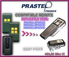 PRASTEL MPSTF2E,3E,4E  433,92MH Compatible Remote control Replacement, clone