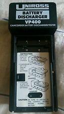Uniross battery discharger/tester VP400